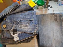 Calças comprida cintura baixa