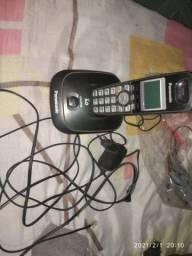 Telefone Panasonic sem fio (com defeito)
