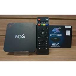 Tv box 128G  Android atualizado 11.1  transforme sua tv em smart