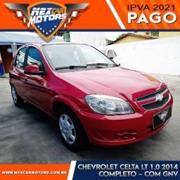 Chevrolet Celta LT 1.0 2014 com GNV