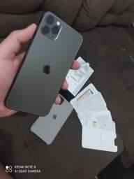 iPhone 11 Pro Max 64 zerado top tem garantia Apple está do 95% saúde bateria