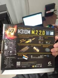 Kit Placa Mãe H310M M2 + i5 9400f