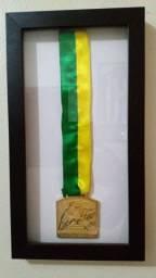 Medalha e troféu, copa do Brasil 2015.