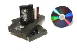 Digitalização de Fitas de Vídeo, Fitas K7, Fotografias