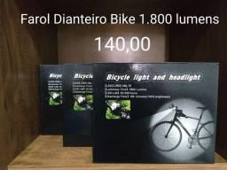 Farol bike 1.800 lumiens