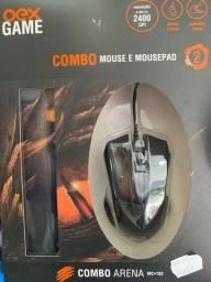 combo mouse e mousepad
