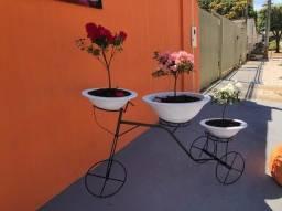 Vaso de Planta Formato Bicicleta - R$450,00