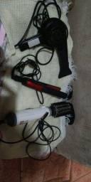 Prancha , secador ,escova rotativa