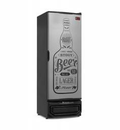 Cervejeira Porta Cega 410 Litros GRBA-400 Gelopar