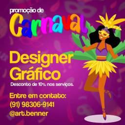 Designer gráfico- DESCONTOS DE CARNAVAL