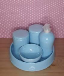 Kit higiene de porcelana