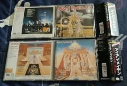 Iron Maiden - Edições raras Japão (Leia o anúncio)