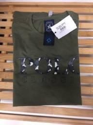 Camiseta Polo 100% Algodão. Original