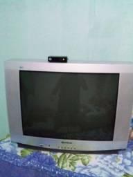 Televisão de Tubo Gradiente + Conversor Digital  keo