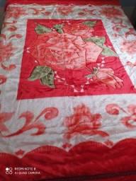 Cobertor casal dupla face NOVO