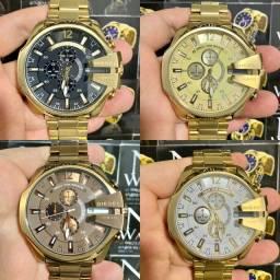 Relógio Diesel 10bar varias cores novo lacrado