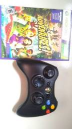 Controle de Xbox 360 + mais jogo