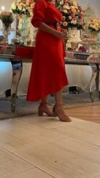 Vestido Morena rosa, tamanho M