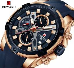 Relógio Masculino Importado Original Reward Super Premium