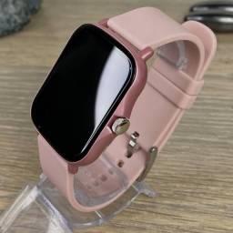 Relógio Smartwatch P8 plus Com Duas Pulseiras