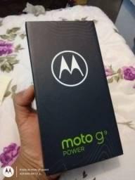 Moto G9 Power, 128GB de Memória Interna, 4GB de Memória RAM e Completo de tudo!