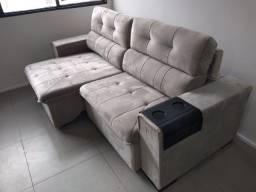Sofá Cancun retrate /reclinável . novo da fabrica