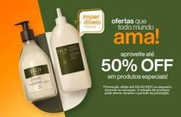 Quer comprar produtos Natura barato?