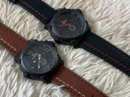 Relógio em couro - Original Naviforce masculino