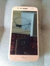 Vendo esse celular LG 32gb semi novo com película de vidro