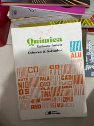 Livro de química, de Usberco e Salvador