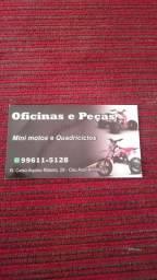 Mini moto oficina