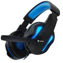 Fone Headset Gamer Evolut Thoth Eg-305 Com led