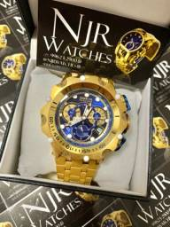 Relógio Invicta new hybrid azul novo lacrado