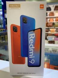 Celular Xiaomi Redmi 9 - 4GB Ram 128GB Rom - Dual Chip