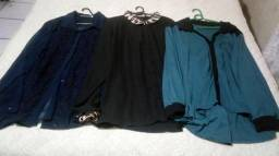 3 Camisas Plus Size