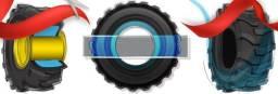 Preenchimentos de pneus para Máquinas e Caminhões Fora de Estrada