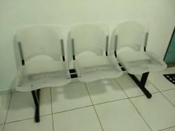 Cadeira Longarina de 3 lugares e 2 lugares