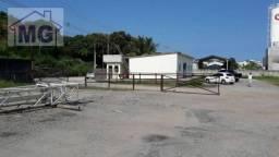 Galpão para alugar, 900 m² por r$ 18.000,00/mês - lagoa - macaé/rj