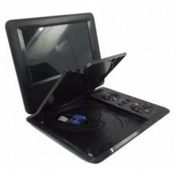 Dvd Portatil 3d Tv 7.8 Polegada Led Sd Usb Fm Jogos