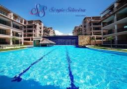 Nascente total e com móveis: Apartamento no Porto das Dunas belíssima vista! 2 quartos