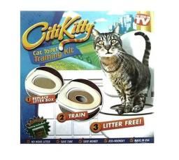 Sanitário Para Gatos Kit Treinamento Citi Kitty