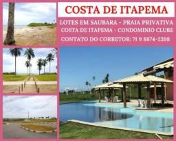 Costa de Itapema - Condomínio Fechado com total Infraestrutura - Praia Privativa