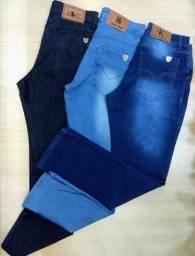Calça jeans 38 a 56