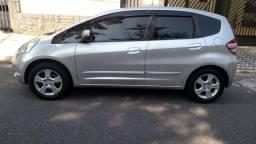 Honda Fit LX Automático 2009 Bancos em Couro Multimidia - 2009