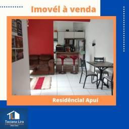 Apartamento 1 suíte + 2 Quartos com móveis planejados, Residêncial Apuí