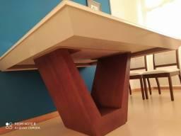 Mesa de jantar quadrada 1,5mx1,5m