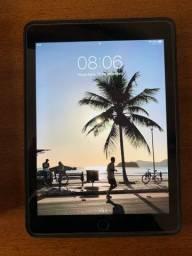 iPad Air novíssimo com película e case de couro