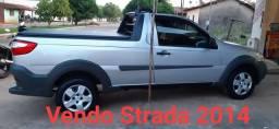 Fiat Strada 2014 cabine simples 32000 mil