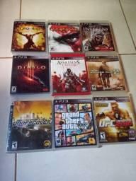 Vendo jogos originais de PS3 a partir de 40 reais