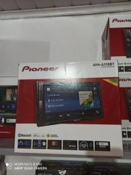 Central Multimídia Pioneer Avh-a318bt 2 Din Tela Touch 6,8<br><br>